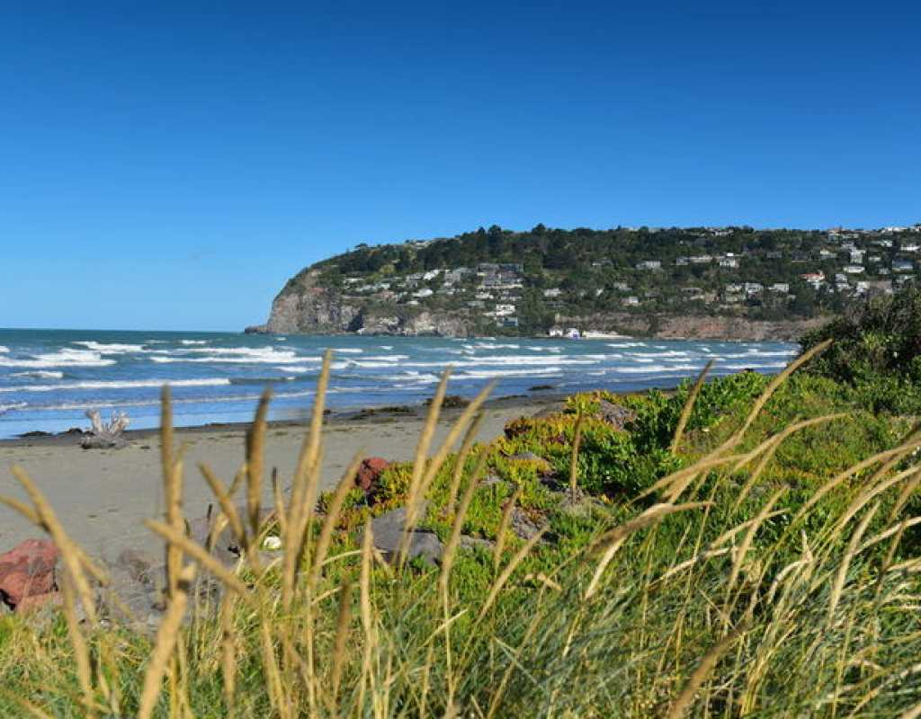 Free things to do in Christchurch - Sumner Beach - North South