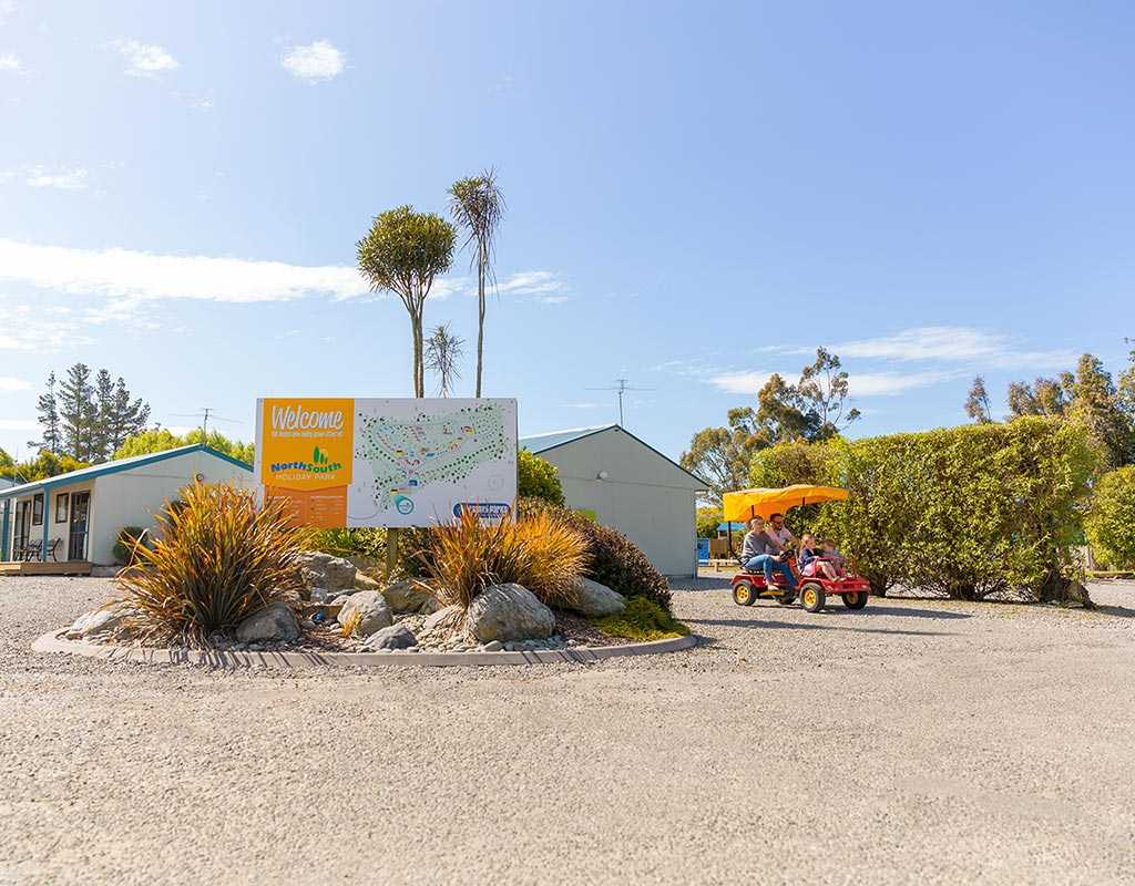 Best Caravan Park In Christchurch - North South Holiday Park