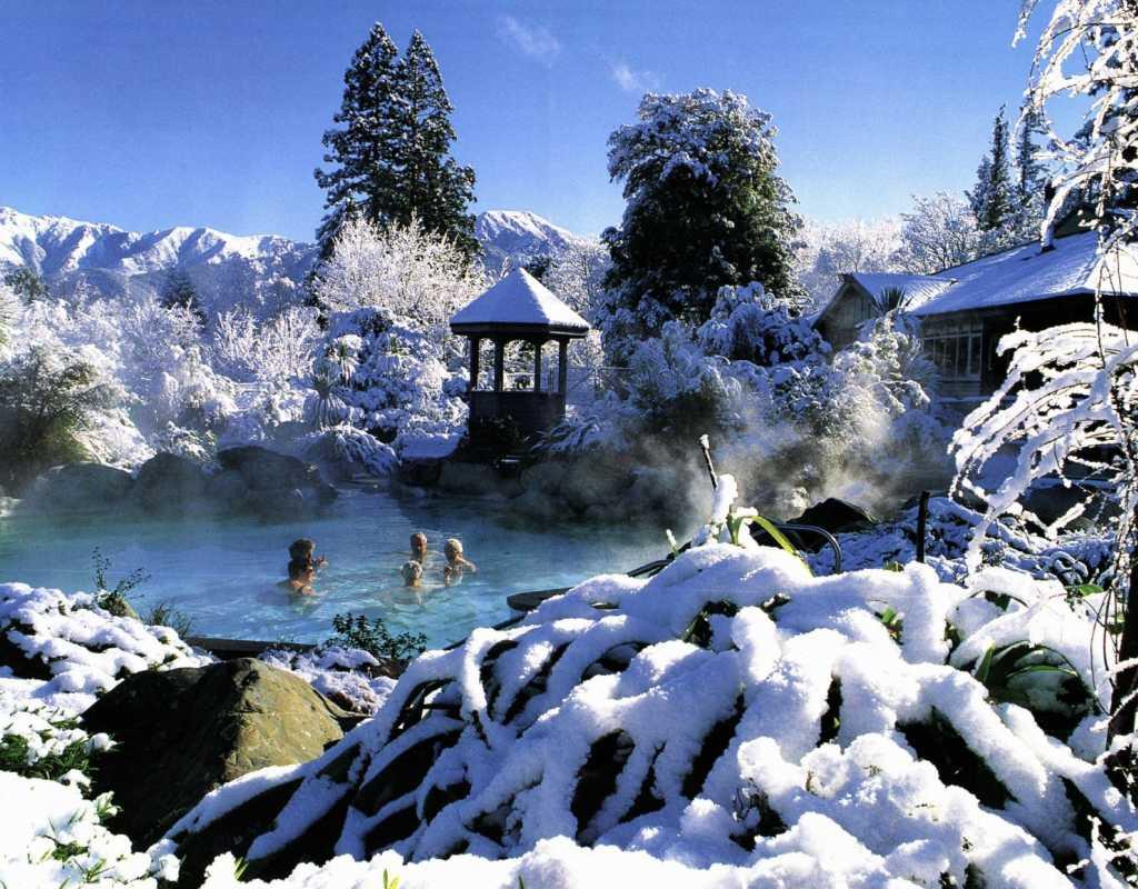 Hot Pools Christchurch - North South Holiday Park