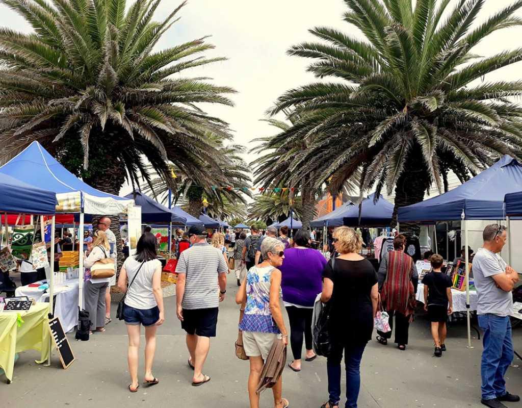 Markets In Christchurch - New Brighton Seaside Market