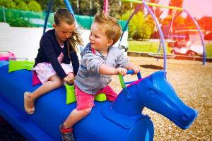 Family Accommodation Christchurch Kids - North South Holiday Park