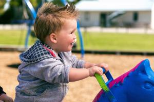 Family Holiday Accommodation Christchurch Playground - North South Holiday Park
