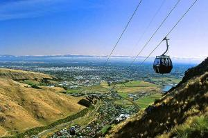 Christchurch Gondola - North South Holiday Park
