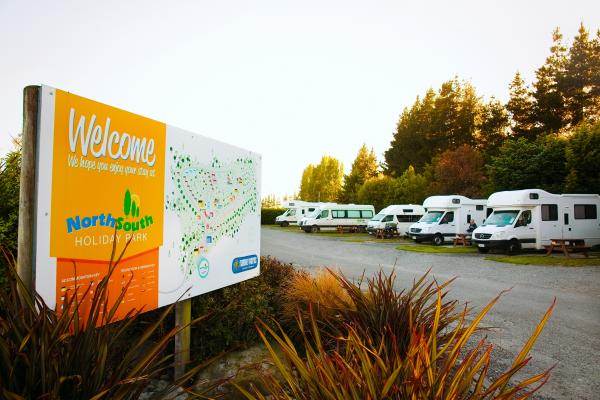 Campervan Caravan Site Powered Site Christchurch New Zealand Best Price Holiday Park
