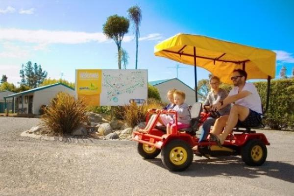 Family Friendly Pet Friendly Children's Playground Christchurch Holiday Park